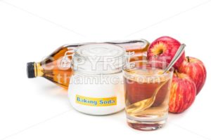 Apple cider vinegar and baking soda combination for acid reflux condition