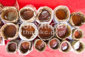 Chinese New Year glutinous rice cake, known as Nian Gao - ThamKC Royalty-Free Photos