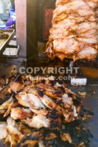 Burnt charred barbeque meat is unhealthy - ThamKC Royalty-Free Photos