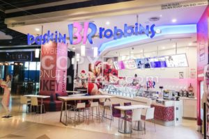 KUALA LUMPUR, Malaysia, June 25, 2017: Baskin-Robbins is the world's largest chain of ice cream specialty shop restaurants. - ThamKC Royalty-Free Photos