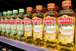 KUALA LUMPUR, Malaysia, June 25, 2017:  Bertolli is an Italian food brand. Originating as a brand of extra-virgin olive oil, it grew into an international brand of Italian and Mediterranean food. - ThamKC Royalty-Free Photos