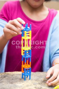Kids playing the stacking chairs game during party - ThamKC Royalty-Free Photos