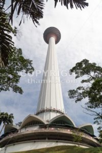 KUALA LUMPUR,  MALAYSIA, SEPTEMBER 16, 2017: KL Tower is the seventh-tallest tower in the world by pinnacle height at 421 m (1,381 ft). Popular tourism destination in Malaysia. - ThamKC Royalty-Free Photos