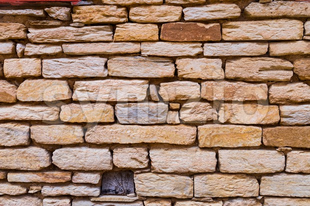 Abstract weathered stone brick background Stock Photo