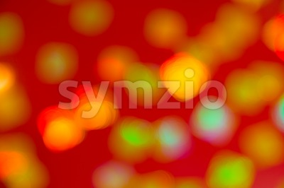 Blurred and defocused background of multiple red lanterns Stock Photo