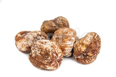 Closeup and selective focus on the dried honey dates Stock Photo