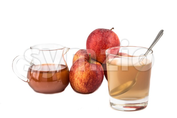 Apple Cider Vinegar, a home remedy for gout inflammation Stock Photo