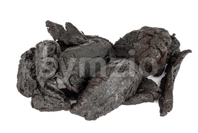 Shu Di Huang or botanical name Rehmannia Glutinosa Root Stock Photo