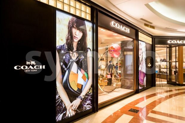 KUALA LUMPUR, MALAYSIA, May 20, 2016: Coach outlet at KLCC, Kuala Lumpur.  Coach, Inc., based in New York City, is a luxury fashion company known for Stock Photo