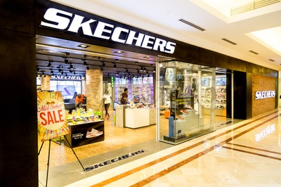 KUALA LUMPUR, MALAYSIA, May 20, 2016: Sketchers outlet at KLCC, Kuala Lumpur.  Skechers is an American shoe company founded by CEO Robert Greenberg Stock Photo