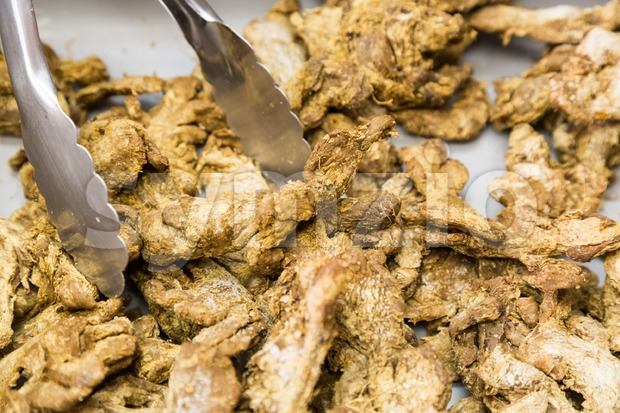 Dried old ginger with medicinal value beneficial for health