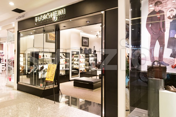 KUALA LUMPUR, MALAYSIA -  January 29, 2017: Florsheim is US based and manufacturer of comfortable shoes, and with outlet ...