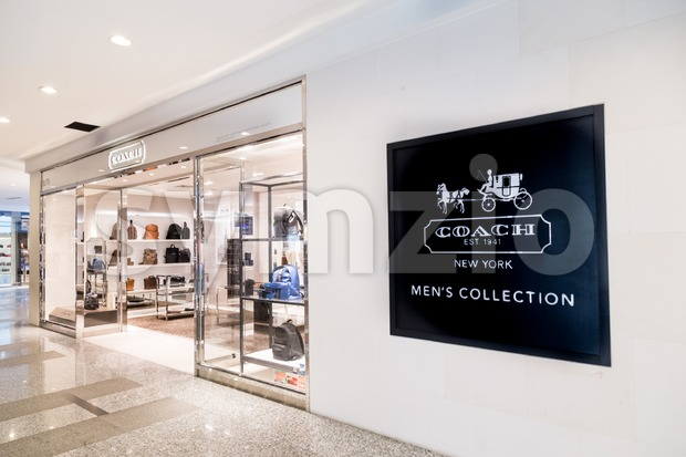 KUALA LUMPUR, MALAYSIA -  January 29, 2017:  Coach Inc, multinational luxury fashion company based in New York City with outlet in Kuala Lumpur. Stock Photo
