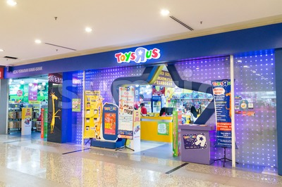 KUALA LUMPUR, MALAYSIA -  January 29, 2017: Toys R Us an American toy and juvenile products retailer with store in Malaysia Stock Photo