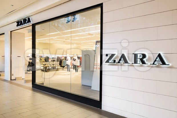 KUALA LUMPUR, MALAYSIA -  January 29, 2017: Zara is a Spanish clothing and accessories retailer based in Arteixo, Galicia. They have retail store in Stock Photo