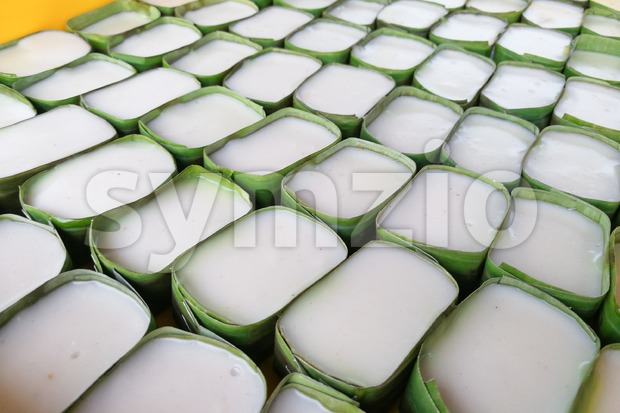 Close-up of tepung pelita, popular sweet dessert in Malaysia Stock Photo
