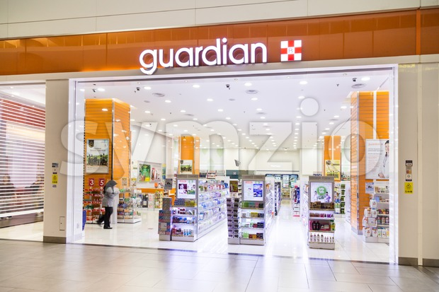 KUALA LUMPUR, MALAYSIA - June 8, 2017: Guardian Pharmacy is healthcare chain retailer with more than 500 outlets in Malaysia Stock Photo
