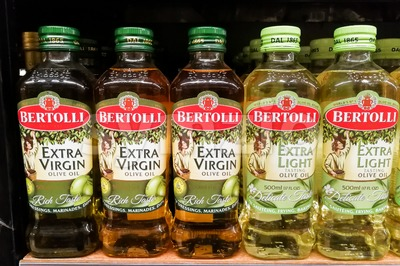 KUALA LUMPUR, Malaysia, June 25, 2017:  Bertolli is an Italian food brand. Originating as a brand of extra-virgin olive oil, it grew into an Stock Photo