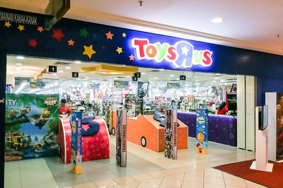 KUALA LUMPUR, Malaysia, June 25, 2017: Toys R Us an American toy and juvenile products retailer with store in Malaysia Stock Photo