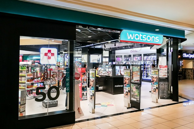 KUALA LUMPUR, Malaysia, June 25, 2017: Watsons Personal Care Stores is the largest health care and beauty care chain store in Asia. Stock Photo