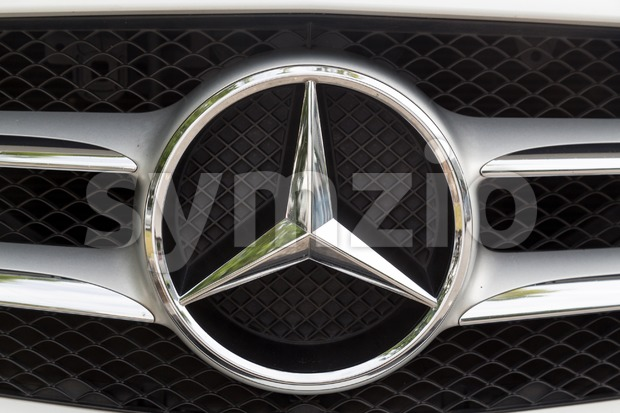 KUALA LUMPUR, MALAYSIA - August 12, 2017: Mercedes-Benz is a global automobile manufacturer and a division of the German company Daimler AG, known for Stock Photo