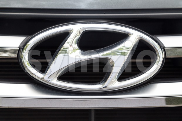 KUALA LUMPUR, MALAYSIA - August 12, 2017: The Hyundai Motor Group is a South Korean multinational conglomerate headquartered in Seoul, South Korea Stock Photo