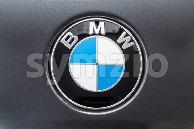 KUALA LUMPUR, MALAYSIA - August 12, 2017: BMW or Bayerische Motoren Werke AG, is a leading German luxury vehicle, sports car, motorcycle, and engine Stock Photo