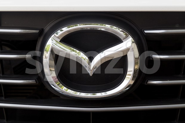 KUALA LUMPUR, MALAYSIA - August 12, 2017: Mazda Motor Corporation, or simply Mazda, is a Japanese multinational automaker based in Hiroshima Stock Photo
