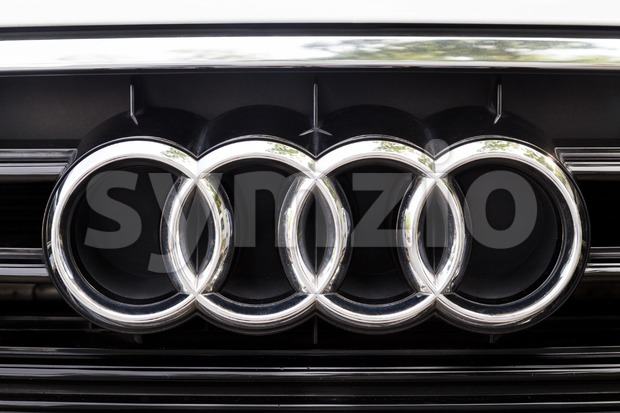KUALA LUMPUR, MALAYSIA - August 12, 2017: Audi is a German automobile manufacturer that designs, engineers, produces, markets and distributes ...