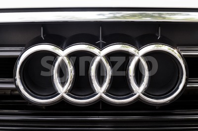 KUALA LUMPUR, MALAYSIA - August 12, 2017: Audi is a German automobile manufacturer that designs, engineers, produces, markets and distributes luxury Stock Photo