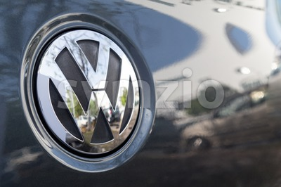 KUALA LUMPUR, MALAYSIA - August 12, 2017: Volkswagen is a German automaker founded on May 28, 1937. It is the flagship marque of the Volkswagen Group, Stock Photo