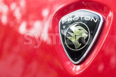 KUALA LUMPUR, MALAYSIA - August 12, 2017: PROTON Holdings Berhad, is a Malaysia-based corporation active in automobile design, manufacturing, Stock Photo