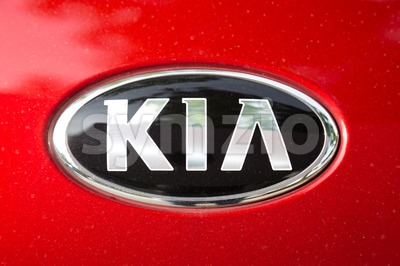 KUALA LUMPUR, MALAYSIA - August 12, 2017: Kia Motor Corporation, headquartered in Seoul, is South Korea's second-largest automobile manufacturer, with Stock Photo