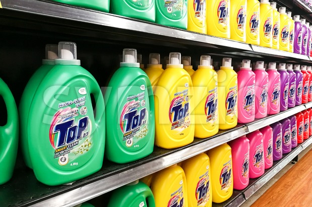 KUALA LUMPUR, Malaysia, August 15, 2017: TOP is the leading Japanese brand liquid detergent from Lion Corporation Japan.  Market ...