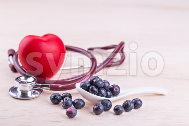 Blueberries rich in anti-oxidants and flavonoid called anthocyanin has many health benefits and is good for the heart