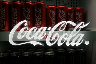 KUALA LUMPUR, MALAYSIA -November 18, 2017: Coca Cola is the leading cola drinks in Malaysia.  Coca-Cola has invested RM1bil in Malaysia since 2010, Stock Photo