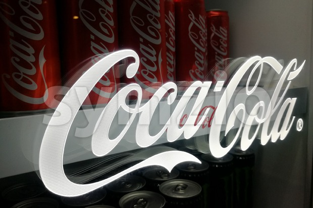 KUALA LUMPUR, MALAYSIA -November 18, 2017: Coca Cola is the leading cola drinks in Malaysia.  Coca-Cola has invested RM1bil ...